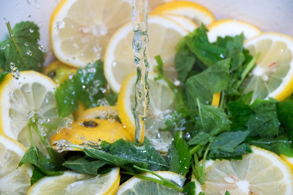 Rezept zum Abnehmen mit Zitrone und Petersilie